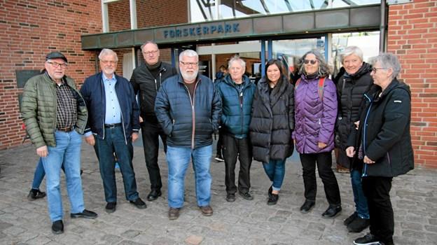 Hvalguider fra Blokhus på besøg hos Nordsøcentret. Foto: Flemming Dahl Jensen