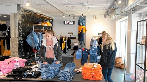 Den byder på tøj og nye brands til teenagere. Foto: Flemming Dahl Jensen Flemming Dahl Jensen