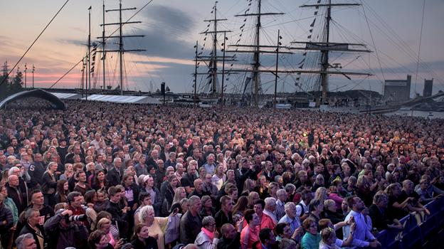 Op mod 800.000 besøgende forventes til The Tall Ships Races - nu kan de også gå på loppemarked. Foto: Baghuset