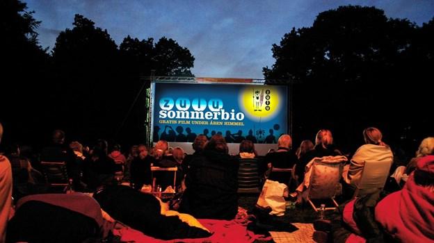 Zulu Sommerbio vender tilbage til Aalborg med gratis film under åben himmel. Arkivfoto: Jakob Glad