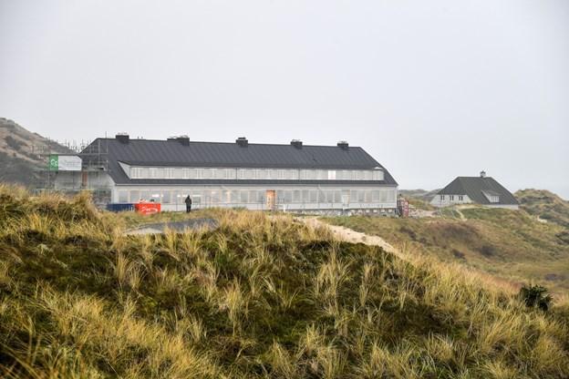 Svinkløv Badehotel er snart klar til gæsterne