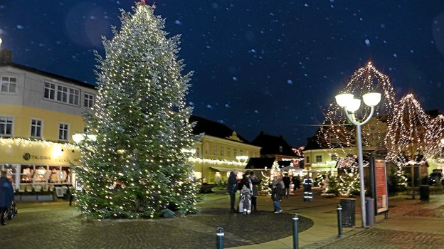 Julen er smuk i Sæby Men den er også dyr for kommunen.