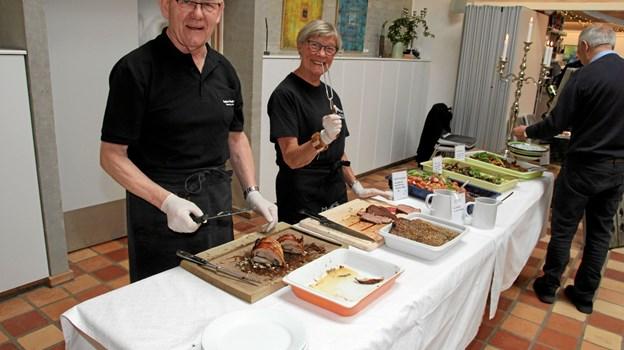 Der er altid god og spændende mad hos Galleri Munken. Foto: Flemming Dahl Jensen Flemming Dahl Jensen