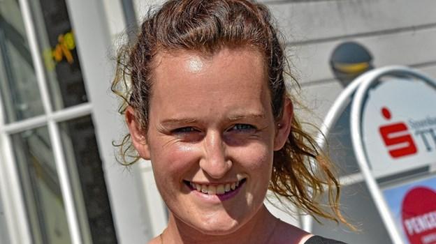 Maria Vinther Andersen skal nyde sommeren og familien hjemme i Vorupør i år. Foto: Ole Iversen