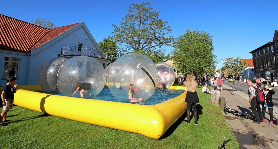 """I 2018 arrangerede man en """"Balloon Day"""" med aktiviteter for både børn og voksne. Den succes gentages i år. Foto: Jørgen Ingvardsen Jørgen Ingvardsen"""
