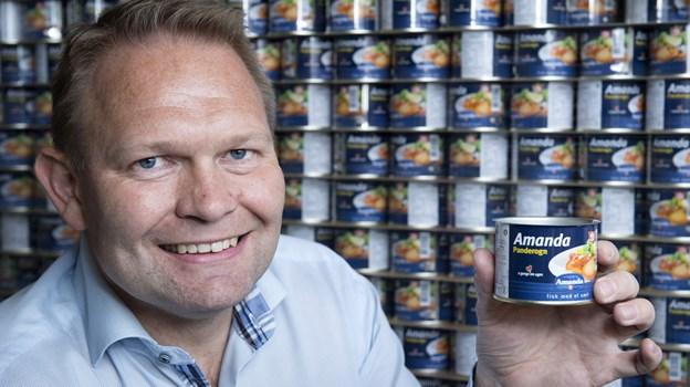 Amanda Seafoods har købt Glyngøre-brandet og får tilført Danmarks mest kendte inden for sild og tunfisk. Foto: Peter Broen
