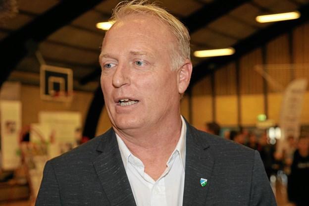 Morten Klessen understreger vigtigheden af at gøre opmærksom på de erhvervsfaglige uddannelser. Foto: Flemming Dahl Jensen