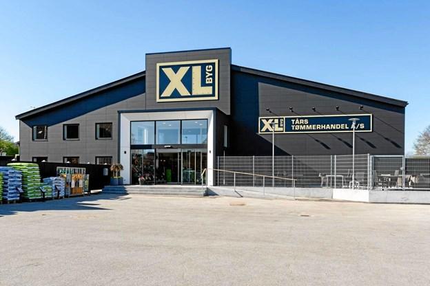 Butikken er løbende blevet renoveret indvendig og i 2018 kom turen også til facaden. Foto: XL-BYG/Allan Toft og Michael Madsen