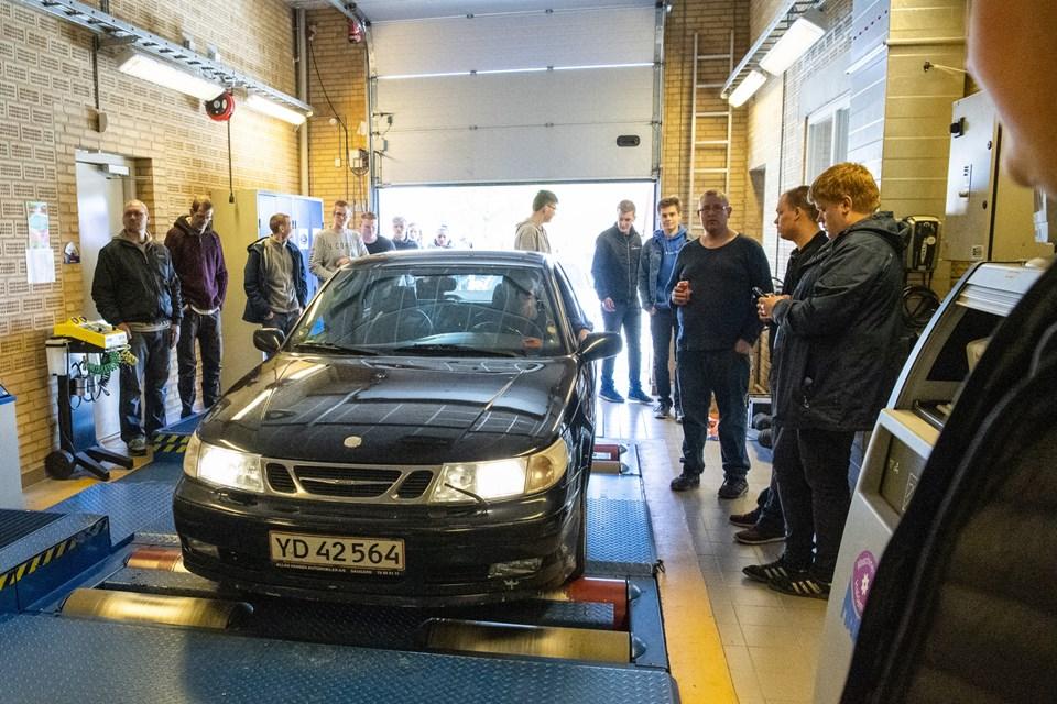 Autobranchens Udviklingscenter holdt åbent hus dagen igennem. Foto: Kim Dahl Hansen Foto: Kim Dahl Hansen