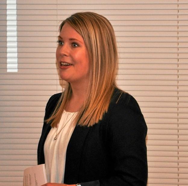 Den nye turismekonsulent, ?Julie Holm Nielsen, er uddannet som cand.mag. i turisme, og hun skal nu fremover virke for det store projekt.?Foto: Ole Torp Ole Torp