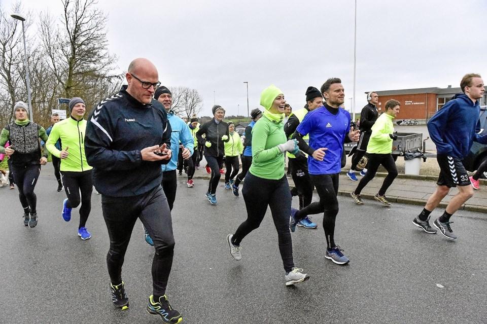Sjørring - Nytårsløbet 2018.Foto: Ole Iversen Ole Iversen