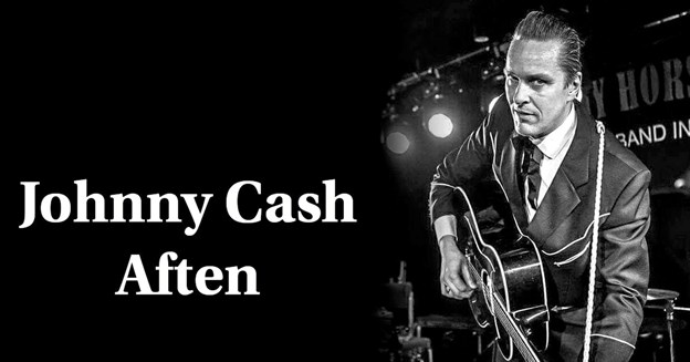 Dennis Lydum synger Cash sange og fortæller om Johnny Cash farverige og farlige liv i Agger Kirke onsdag 20. marts. Privatfoto