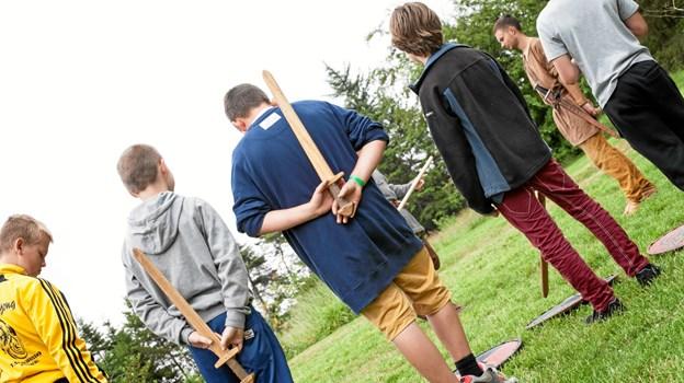 Red Barnet Mariagerfjord holder i juli sommerlejr for 8-12 årige børn. Billedet her er fra en lignende sommerlejr for tre år siden. Arkivfoto