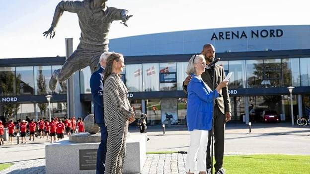 David Nielsen havde en del med Harald Nielsen at gøre gennem FCK. Foto: Michael Madsen Octo Media