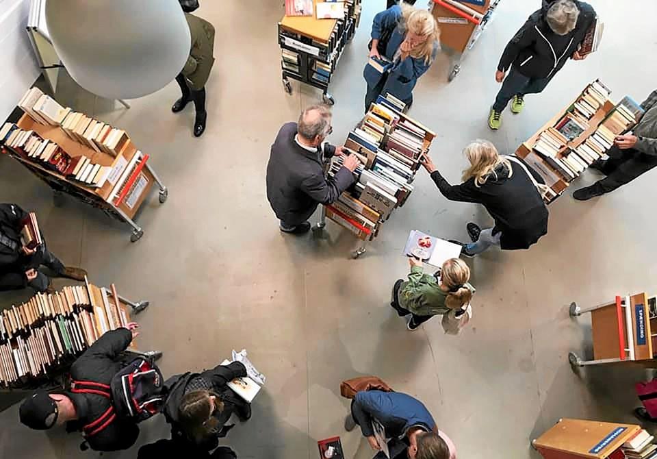 Bogsalg på kommunens biblioteker i uge 8