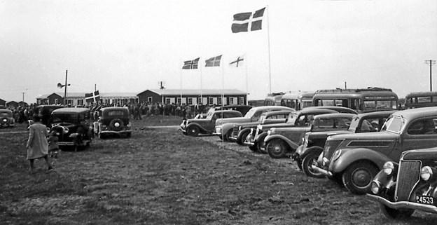 Feriecentret åbnede i 1949.Arkivfoto.