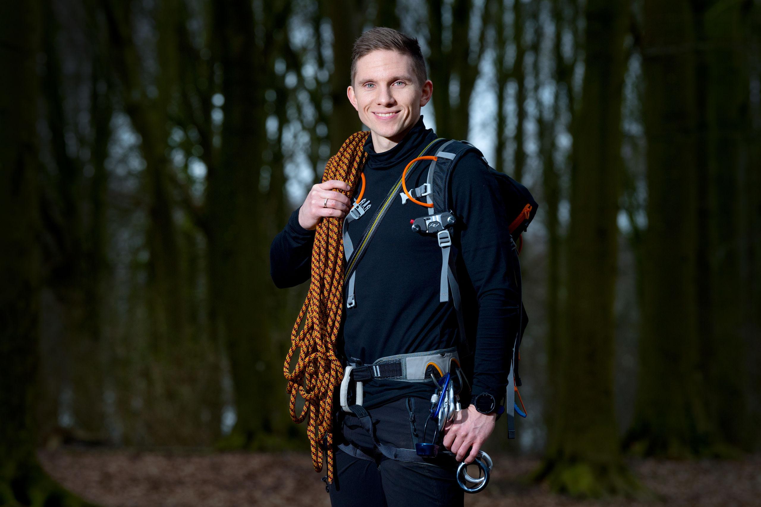 Mark Holler står bag Adventureugen,dk sammen med Thomas G. Hartvigsen. Foto: Torben Hansen