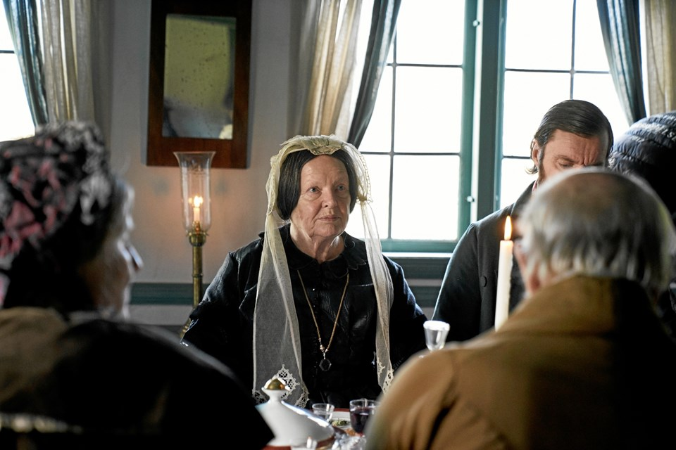 """Filmen """"Før Frosten"""" udspiller sig i det 19. århundrede med kendte danske skuespillere på rollelisten. PR-foto"""