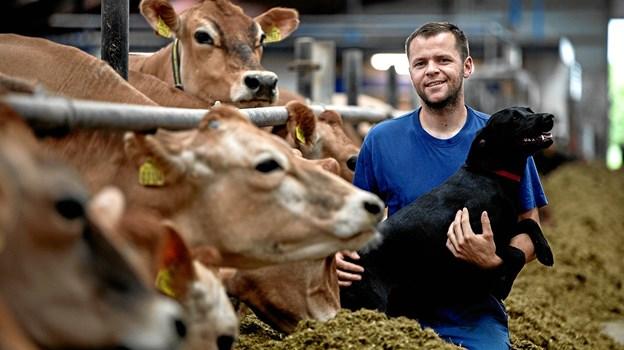 Nr. Haugaard er blandt de 52 landbrug, der inviterer inden for 16. september. Privatfoto