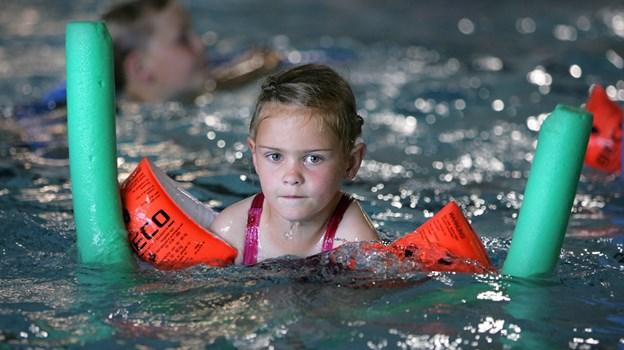 Svømmeklubben Nejst holder svømmeskole for børn mellem 6 og 13 år   Arkivfoto: Bente Poder