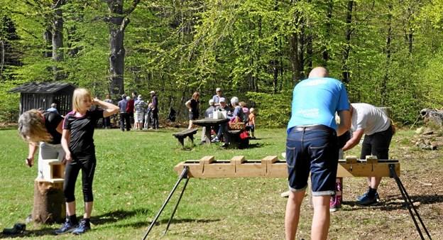 Kom og lav din egen fuglekasse til Skovens Dag, som i år afholdes ved Naturlegepladsen i Arden. Foto: Privat