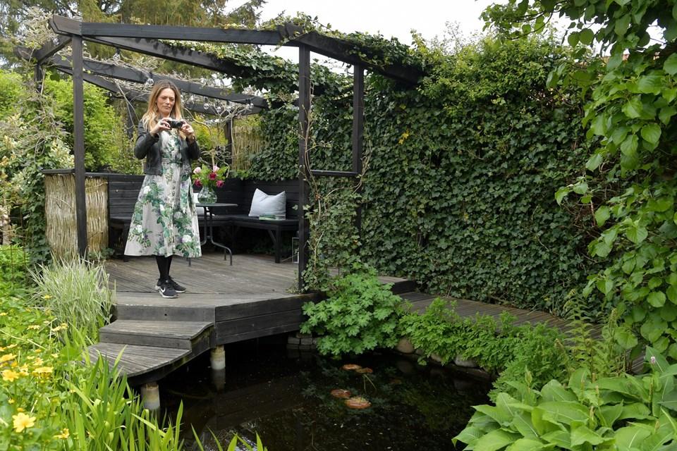 Maria Lundvald oplever stor interesse for Livsnyderhaven, som har flere end 21.700 følgere på Instagram. Foto: Claus Søndberg