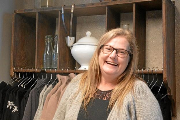 Lonnie Würtz Jensen har overtaget butikslokalerne på Storegade 40, hvor hun har åbent butik Mille's Heaven