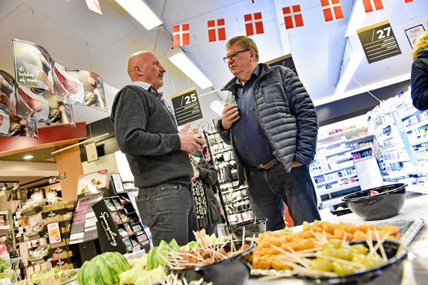 Alle spurgte ind til hvad Henrik Nørmølle nu skulle lave… Ole Iversen
