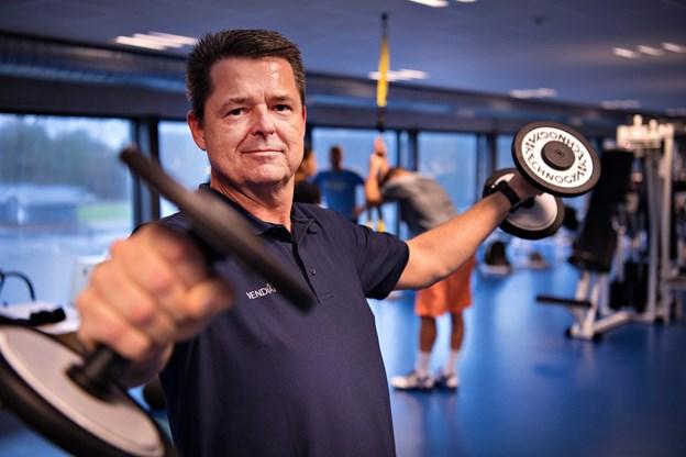 Centerets leder, Johnny Kallehauge, forudser, at der kommer mange motionister til både løb og gåtur 31. december. Arkivfoto