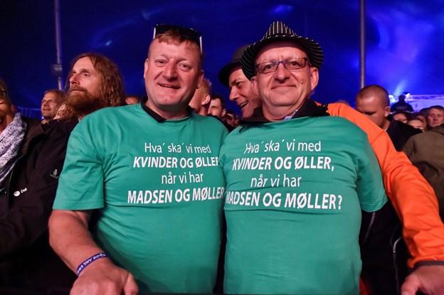 Johhny Madsens fan-klub var kommet til Thy. Foto: Ole Iversen