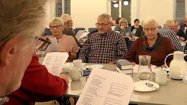 Store danske sangskrivere var aftenens tema. Foto: Allan Mortensen