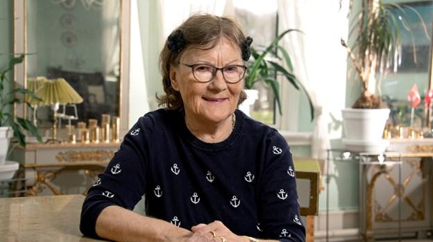 Margit Hansen i Volstrup fylder i dag 80 år. Foto: Henrik Louis