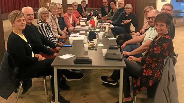 Folkene bag Stafet for Livet i Brønderslev er ved at være klar til årets arrangement.Privatfoto