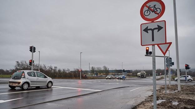 Det er endnu uvist, hvornår Egnsplanvej bliver officielt indviet. Arkivfoto: Nicolas Cho Meier