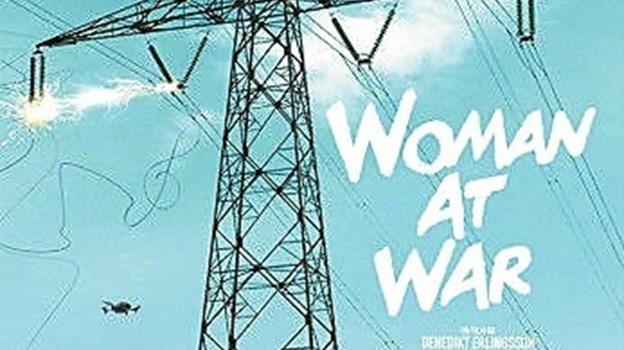 """Danmarks premiere på """"Woman at War"""" eller på dansk """"Kvinde på krigsstien"""" torsdag 23, maj."""