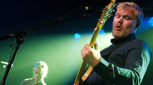 Sidste år tog Mørk prisen som bedste band - hvem der vinder i år bliver afgjort på lørdag. Arkivfoto: Lasse Sand