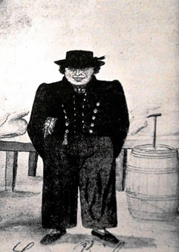 Skipper fra Blokhus.(Efter bog af Anders Skjødsholm) Privatfoto