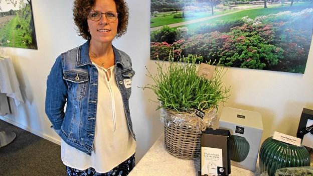 Bodil Nielsen startede sin virksomhed i efteråret, men på grund af travlhed var det først i sidste uge, hun havde tid til at holde åbningsreception. Foto: Jørgen Ingvardsen
