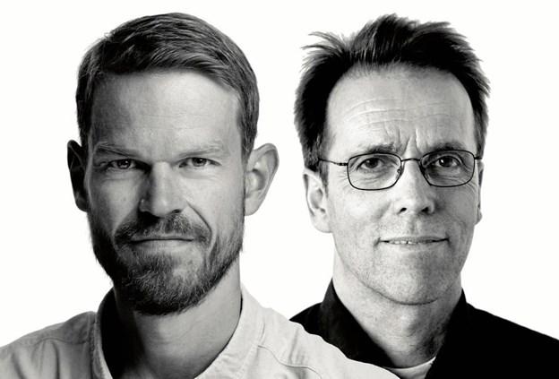 """Svend Brinkmann og Frans Ørsted Andersen holder 5. marts dobbeltforedrag i Farsø under overskriften """"Den fortabte tid"""". Privatfoto"""
