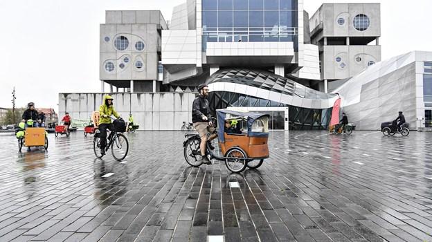 Det er havnefronten, der er ramme om Bæredygtighedsfestivalen. Arkivfoto: Bent Bach