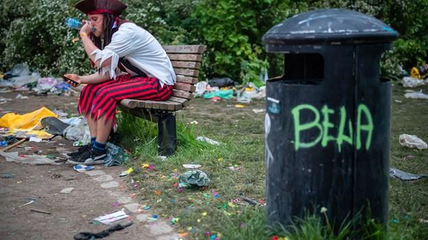 Festen sluttede for mange karnevalsgæster først langt ud på aftenen. Foto: Martin Damgård