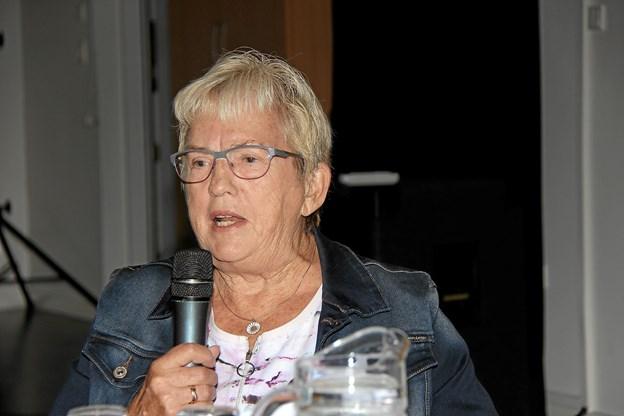 Medlem af Struer Byråd, Grethe Hestbech fortalte at kommunen vil stille alle de ressourcer til rådighed som er mulig. Foto: Hans B. Henriksen