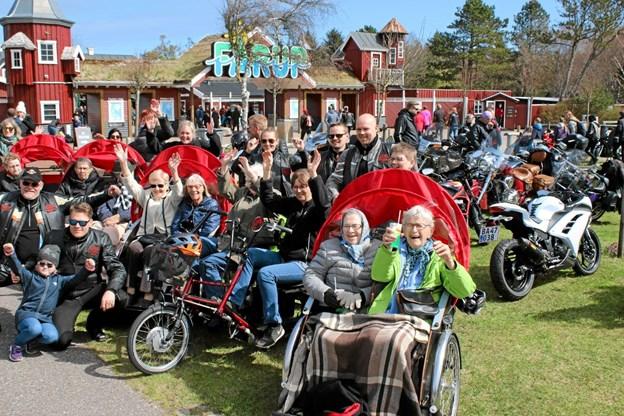 Der var mange aktiviteter i Fårup Sommerland 2018. Foto: Flemming Dahl Jensen Flemming Dahl Jensen