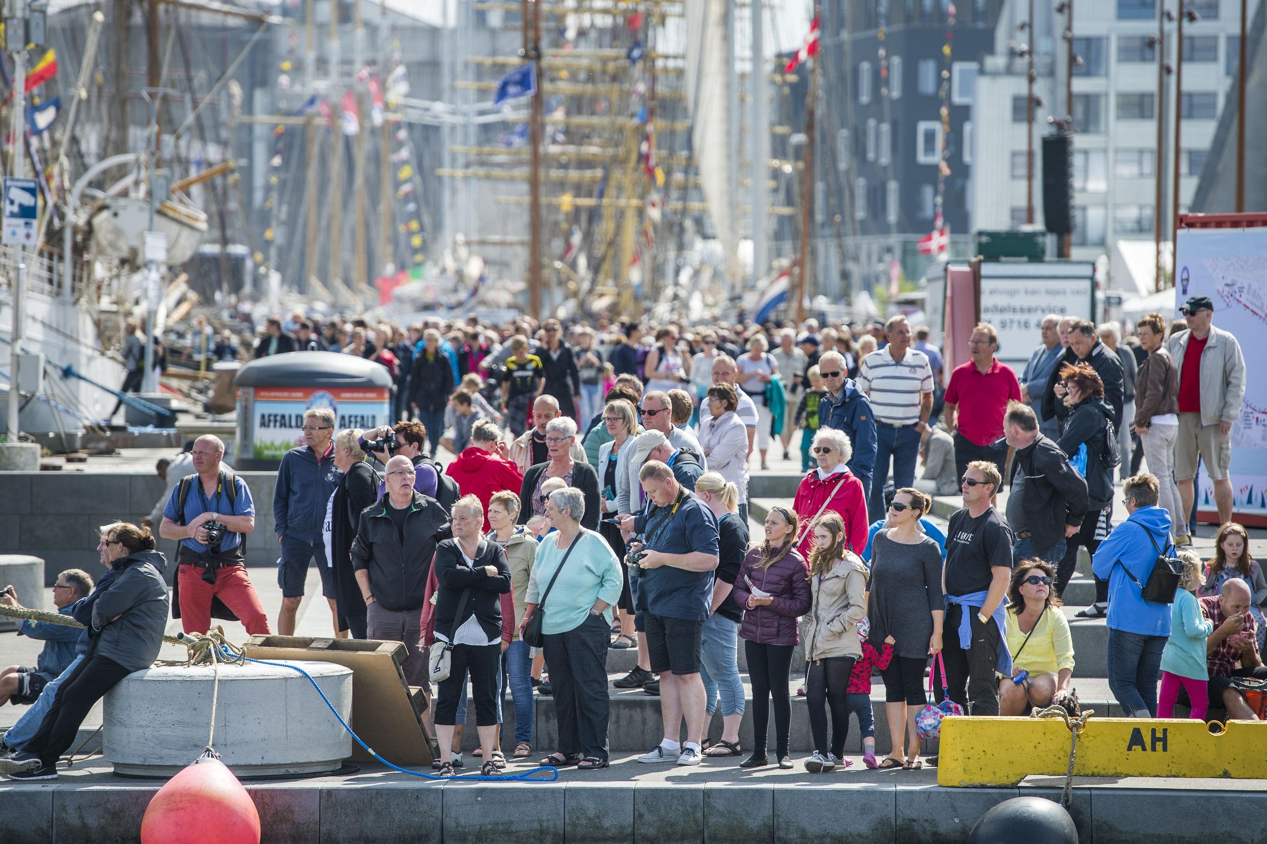 Der er lagt op til en gigantisk fest, når The Tall Ships Races for femte gang er tilbage i Aalborg. Arkivfoto: Laura Guldhammer