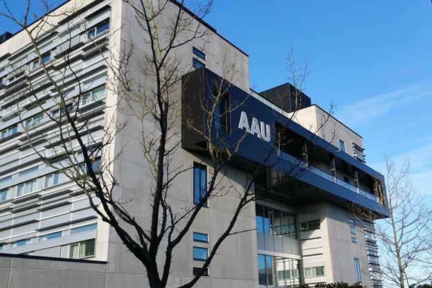 Der er ny topplacering til AAU. Foto: Aalborg Universitet