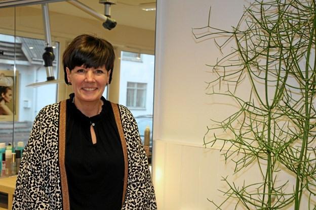 Susanne Vestergaard og Klipoteket kan fejre 25 års jubilæum. Foto: Flemming Dahl Jensen
