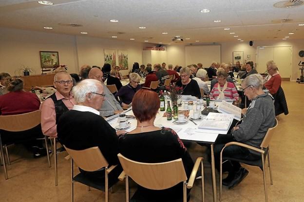 Omkring 80 deltagere havde indfundet sig til arrangementet. Foto: Allan Mortensen Allan Mortensen