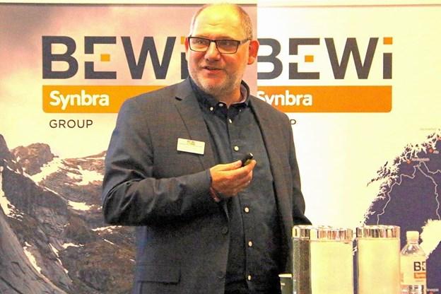 Administrerende direktør Karl Erik Olesen. Privatfoto