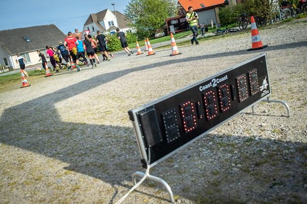 Landsbyløbet starter i Voersaa. I løbet af sommeren kommer løbet igennem 26 landsbyer på otte etaper.         Foto: Martin Damgård Martin Damgård