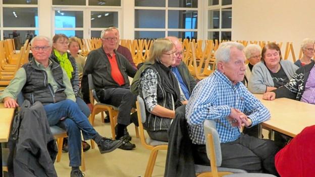 Der blev lyttet i Vrensted. Foto: Kirsten Olsen Kirsten Olsen